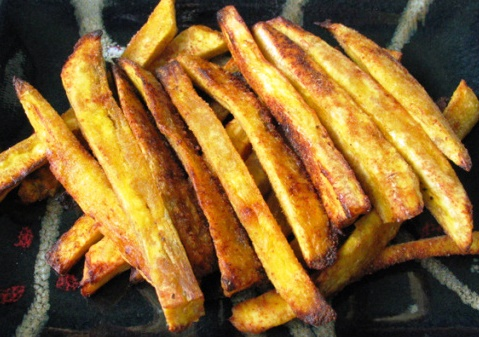 Homemade Plantain Fries