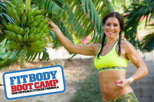 jodi with fit body boot camp logo and platanos